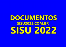 Documentos SISU 2022